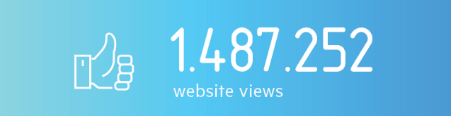 website views